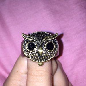 Owl Ring (Clock Inside!!)